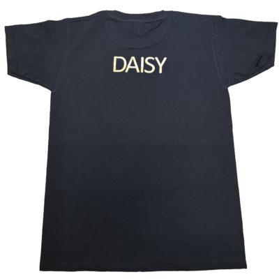 Tip Toes Dance Black vintage gold printed t-shirt