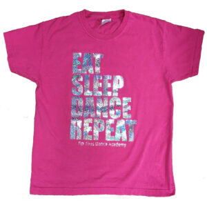 Tip Toes Dance Eat Sleep Dance Repeat Kids T-Shirt