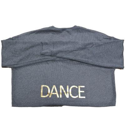 Tip Toes Dance - Womens cropped crew fleece
